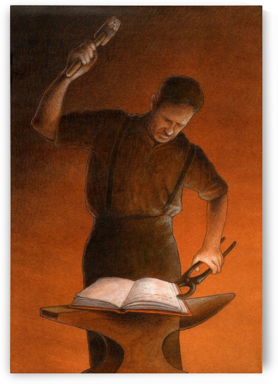 blacksmith by Pawel Kuczynski