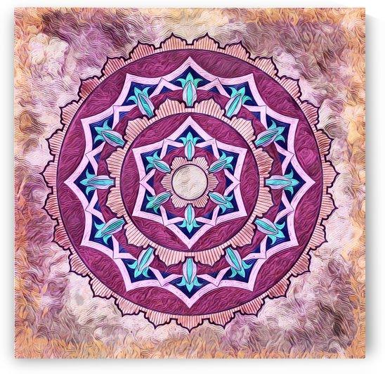 Mandala   Pyromancer by Leslie Montgomery