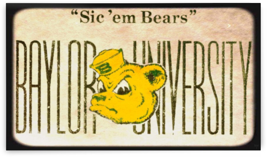 Fifties Baylor Bears by Row One Brand