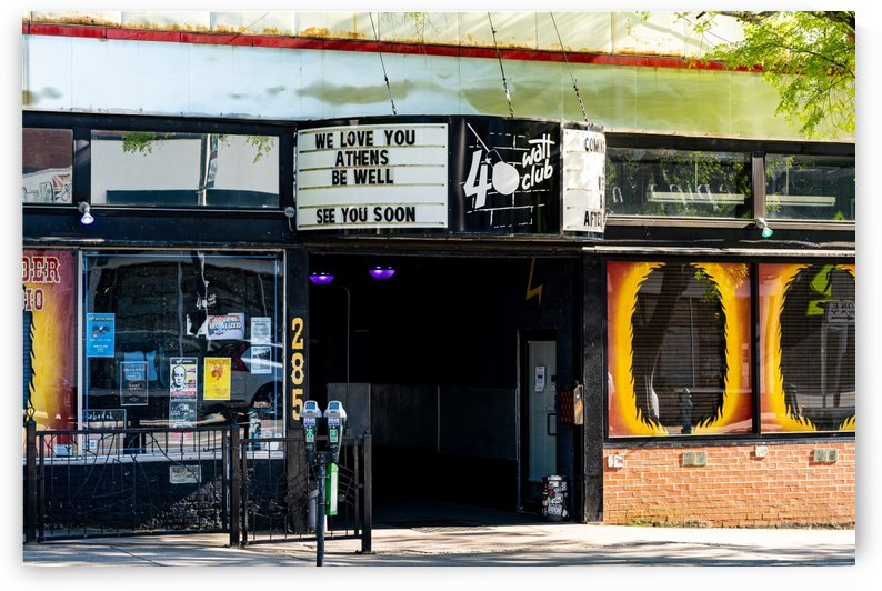 40 Watt Club Marquee   Downtown Athens GA 07337 by @ThePhotourist