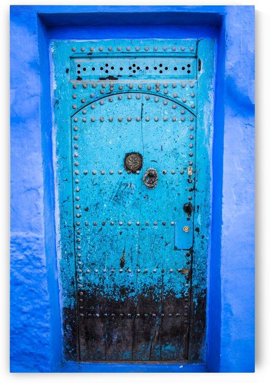 Porte bleue du Maroc 2 by Julie Desrochers