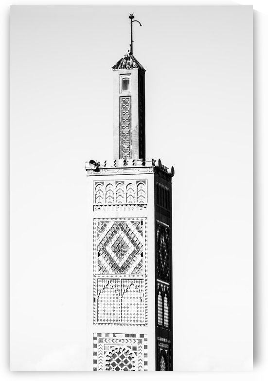 Mosquee noir et blanc 1 by Julie Desrochers