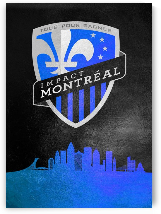 Montreal Impact Football by ABConcepts