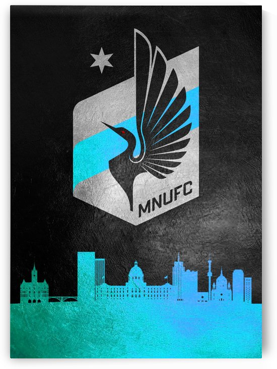 Minnesota United Football by ABConcepts