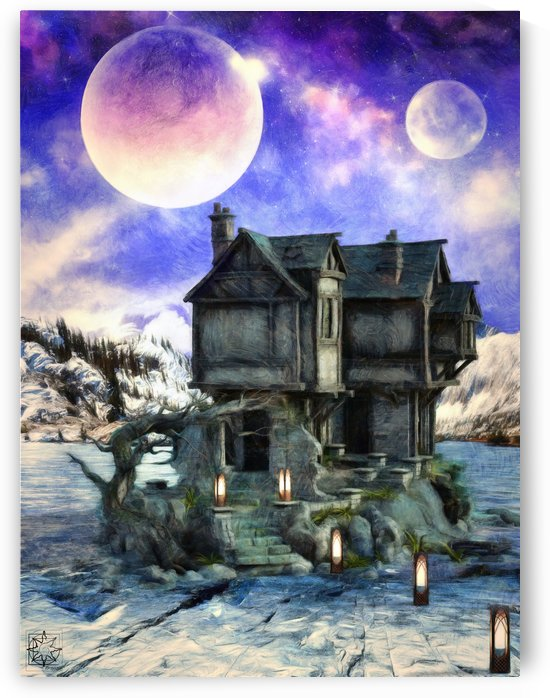 The Morrigans House by ChrisHarrisArt