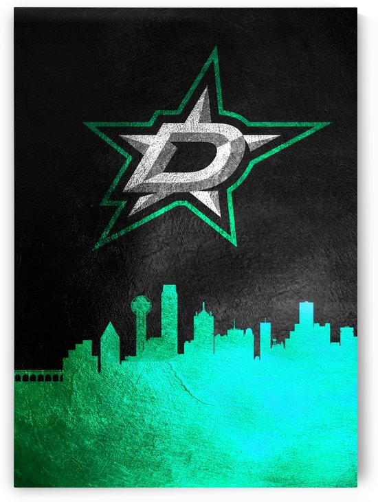 Dallas Stars by ABConcepts