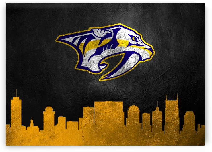 Nashville Predators by ABConcepts