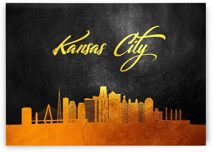 Kansas City Missouri Skyline Wall Art by ABConcepts