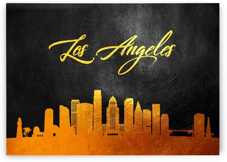 Los Angeles California by ABConcepts