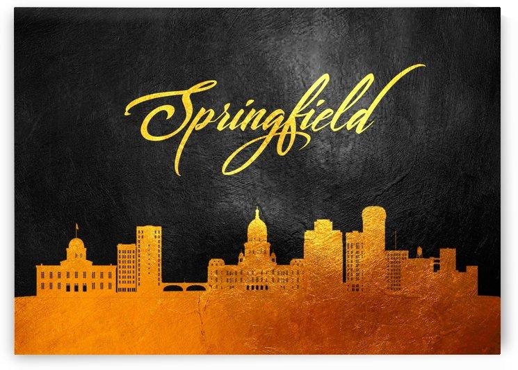 Springfield Massachusetts Skyline Wall Art by ABConcepts
