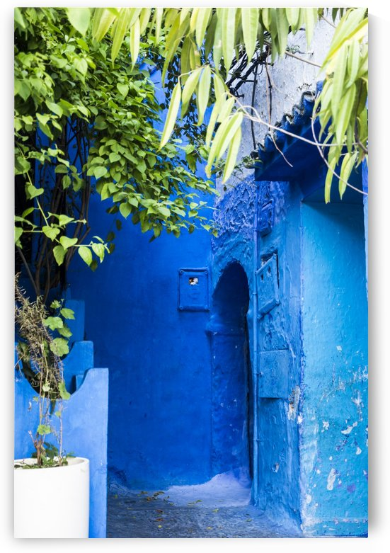 Porte bleue du Maroc 5 by Julie Desrochers