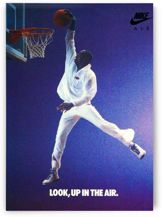 1987 Michael Jordan Nike Ad by Row One Brand
