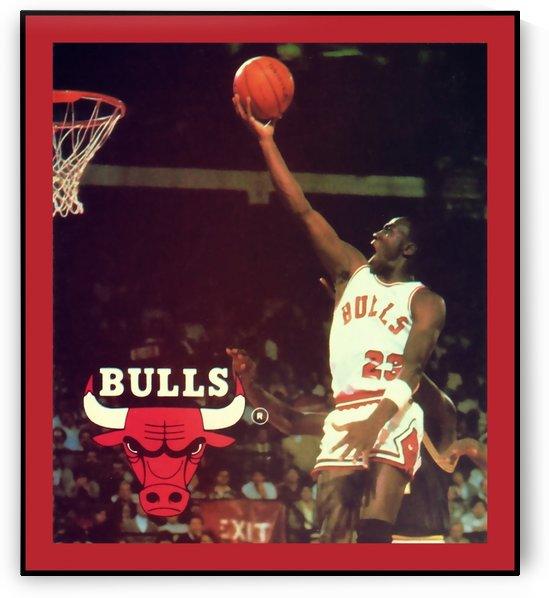 1985 Michael Jordan Poster by Row One Brand