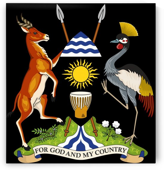 Uganda Coat of Arms by Fun With Flags