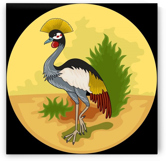 Uganda Protectorate Badge 1894-1962 by Fun With Flags