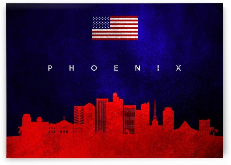 Phoenix Arizona Skyline Wall Art by ABConcepts