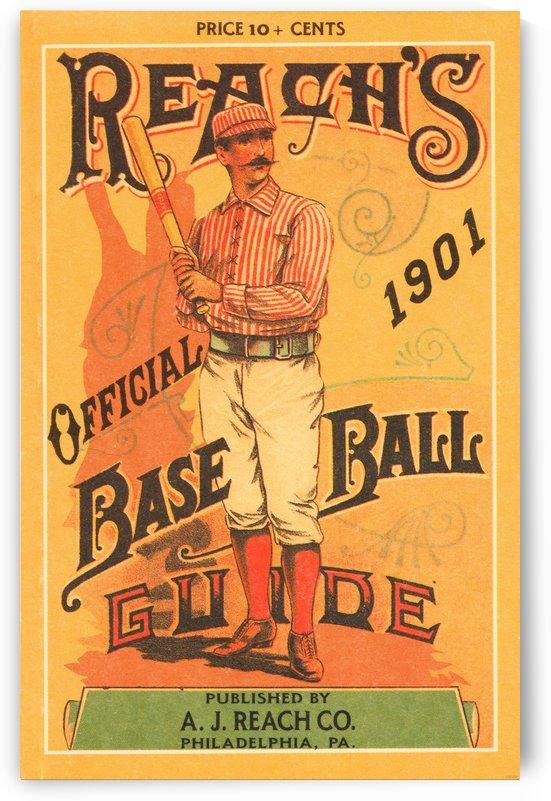 1901 Reachs Baseball Guide by Row One Brand
