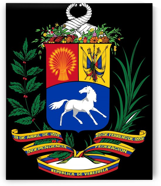 Venezuela Coat of Arms 1954-2006 by Fun With Flags
