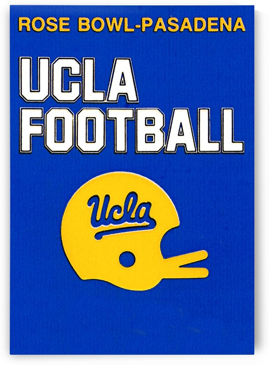 UCLA Football by Row One Brand
