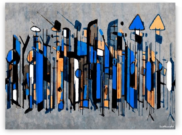 Mingling by David Abrams Art