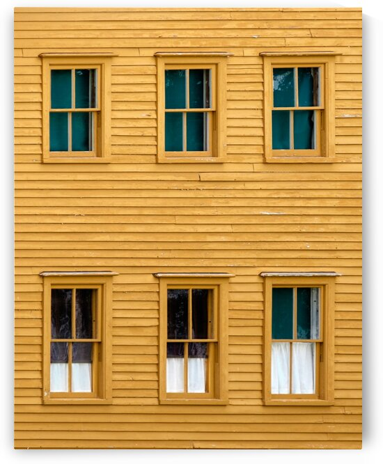 Canterbury Shaker Windows by Dave Therrien