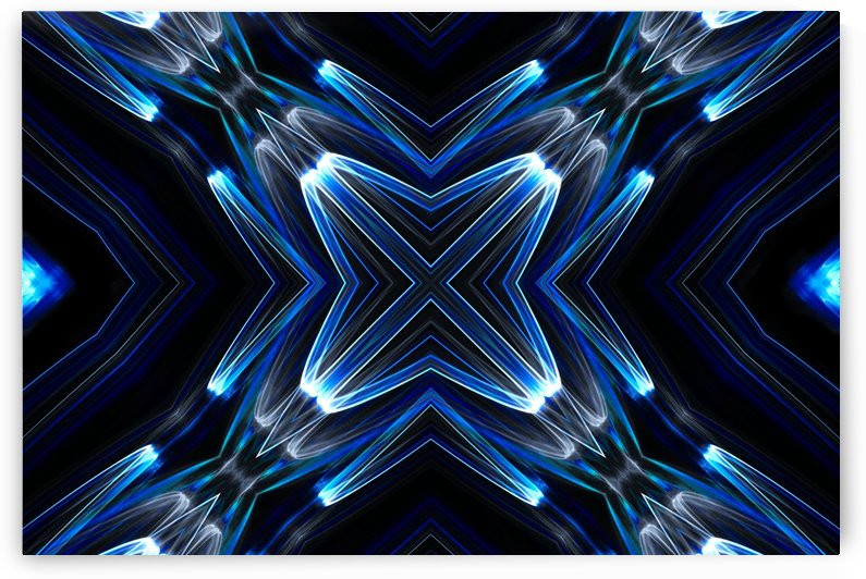 Blue Lights by Bentivoglio Photography