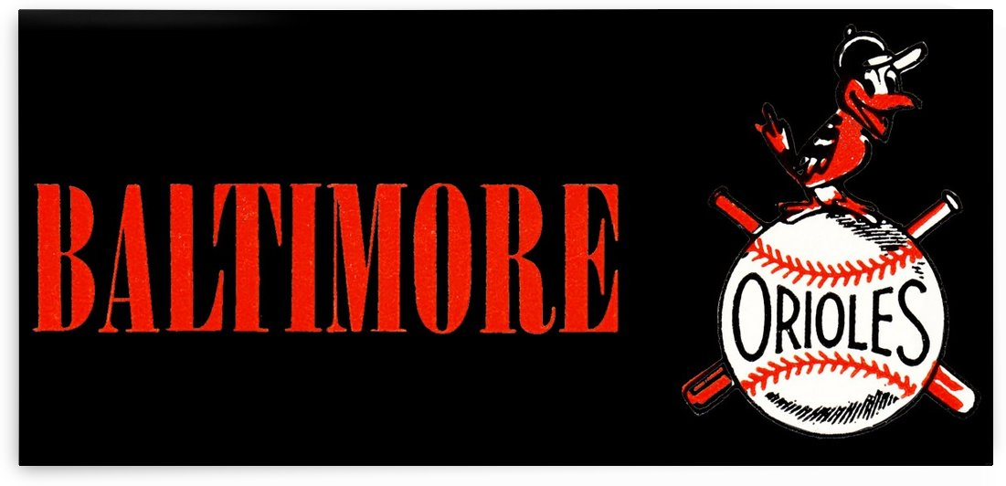 baltimore orioles retro remix row one by Row One Brand