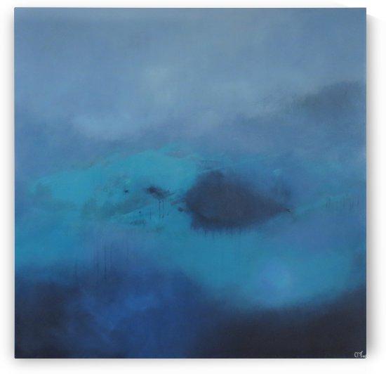 Transcendental Blue V. by Christopher Damien Fox
