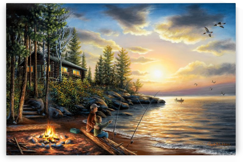 summernights canvas by CRB