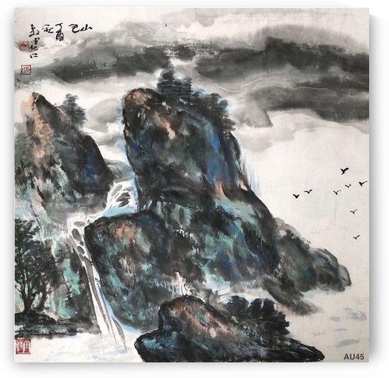 AU 45 Mountain Scenery    by Zhongwu