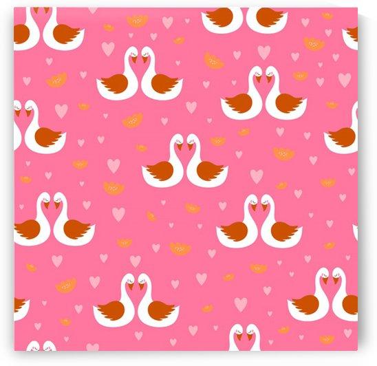 swan pattern elegant style by Shamudy