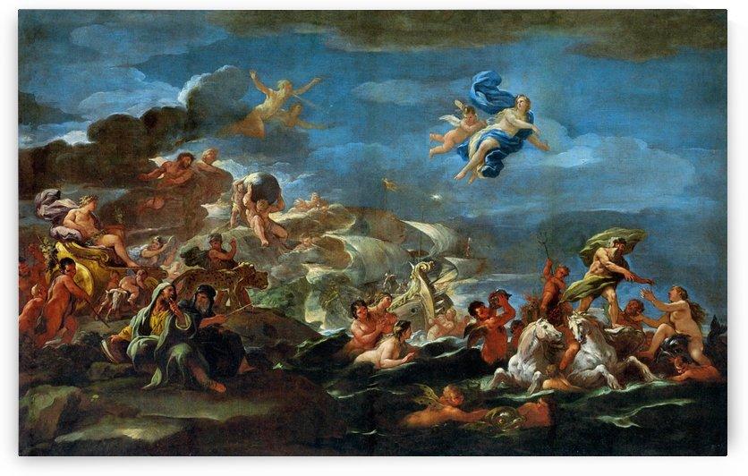The Triumph of Bacchus Neptune and Amphitrite by Luca Giordano
