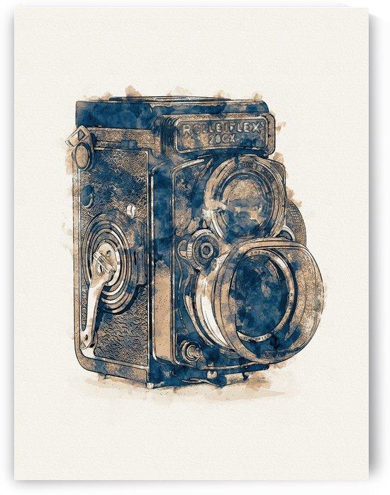 Rolleiflex Camera 01 by Apolo Prints