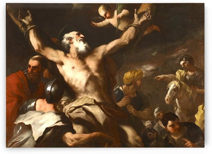 The Martyrdom of Saint Andrew by Luca Giordano