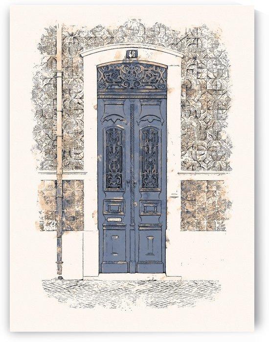 Vintage Door 01 by Apolo Prints
