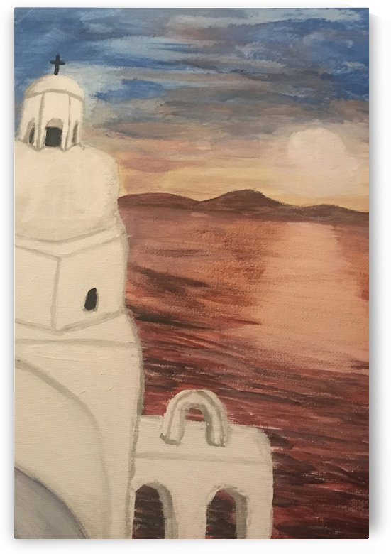 A Greek Island by Jacqueline Sleter