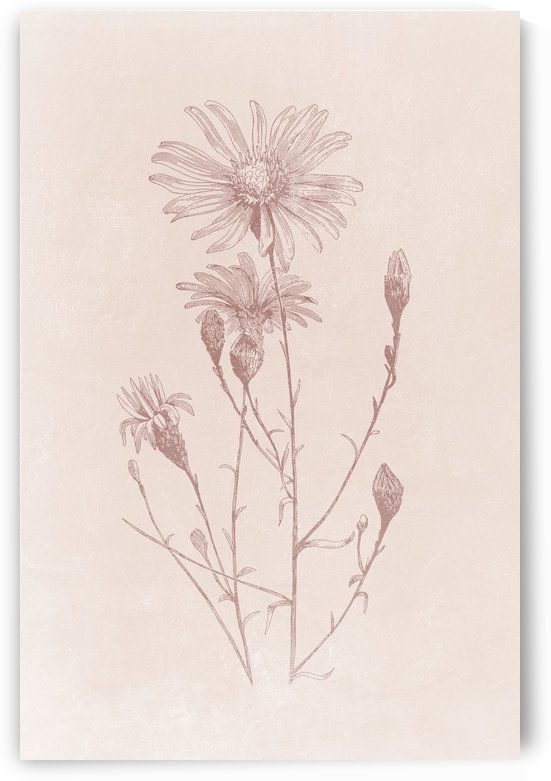 Flower Branch 01 by Apolo Prints