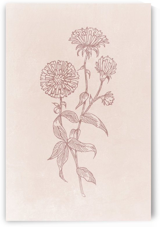 Flower Branch 04 by Apolo Prints