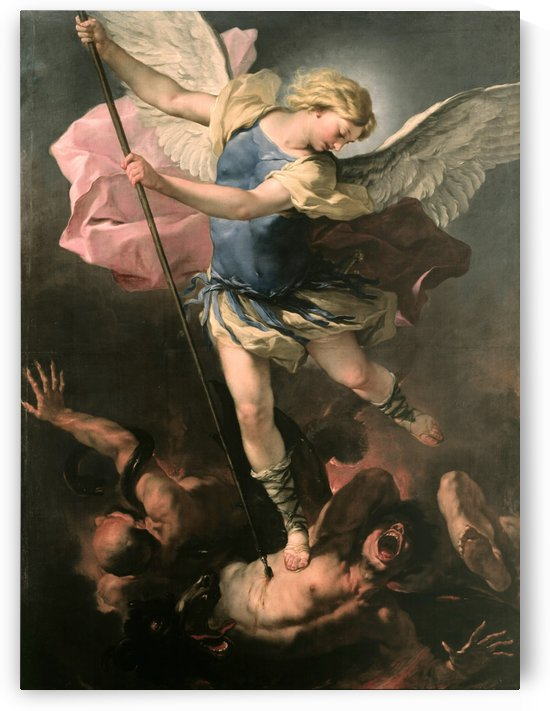 Saint Michael by Luca Giordano
