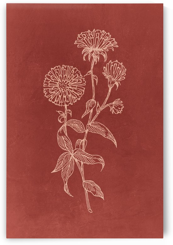 Flower Branch 09 by Apolo Prints