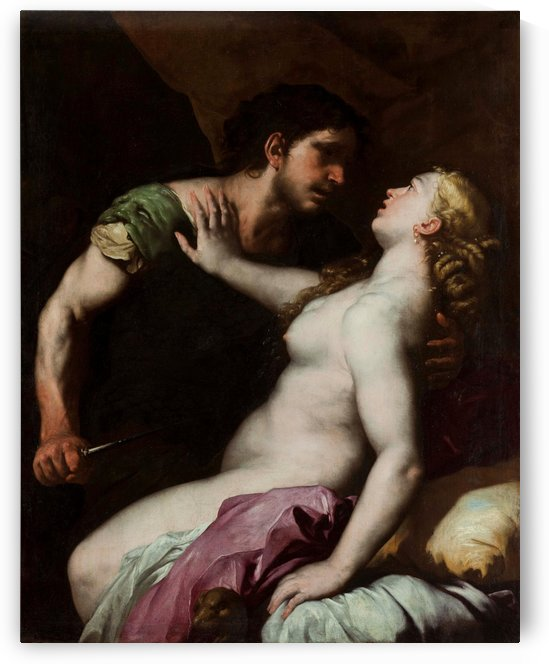 Tarquin and Lucretia by Luca Giordano