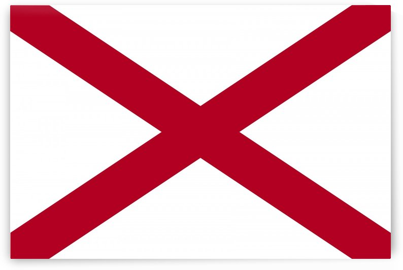 Alabama State Flag by Fun With Flags