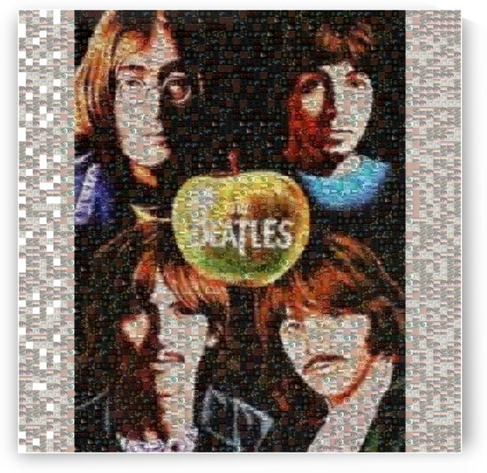 BEATLES MOSAIC 1 by Rainer Anderson