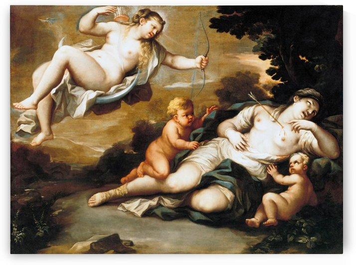 Diana and Niobe by Luca Giordano