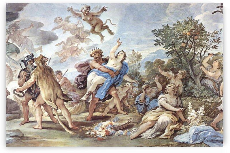 El rapto de Proserpina by Luca Giordano