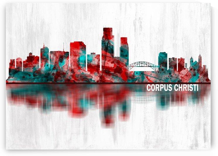 Corpus Christi Texas Skyline by Towseef Dar