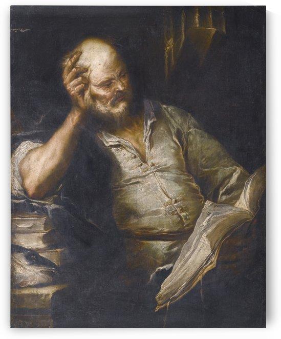 Philoshopher by Luca Giordano