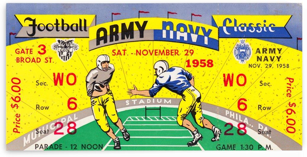 1958 Army vs. Navy by Row One Brand