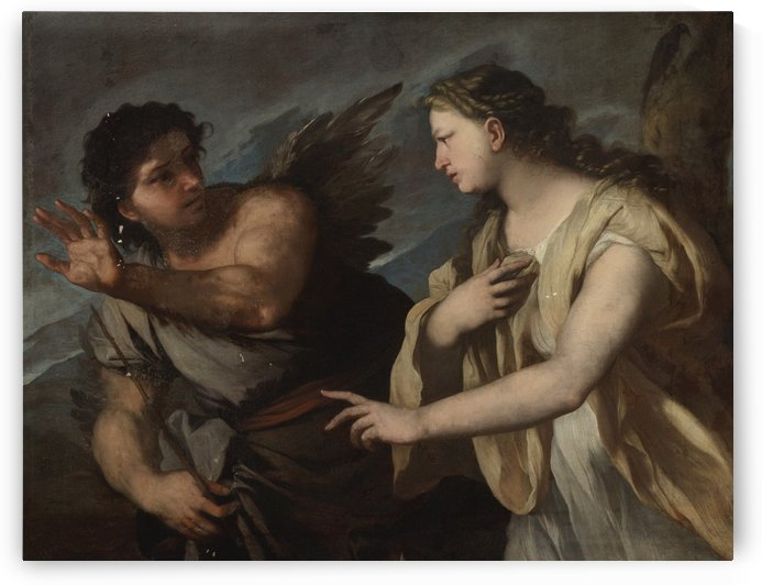 Picus and Circe by Luca Giordano