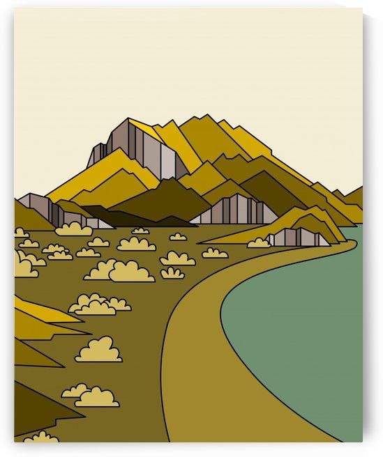travel destination landscape nature by Shamudy